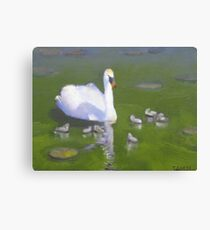 Out with the kids Canvas Print