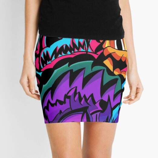 Neon Cesspool Mini Skirt