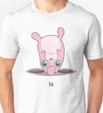 Derpy Wigglytuff Says Hello T-Shirt