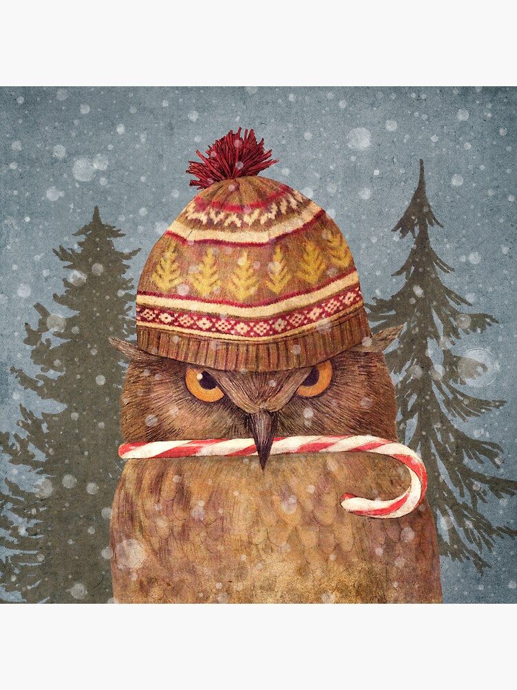 Christmas Owl  by TerryFan
