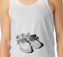 my old running shoes...  Tank Top