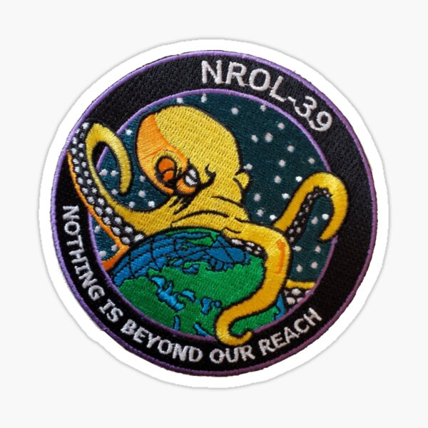 NROL-39 Program Logo Sticker