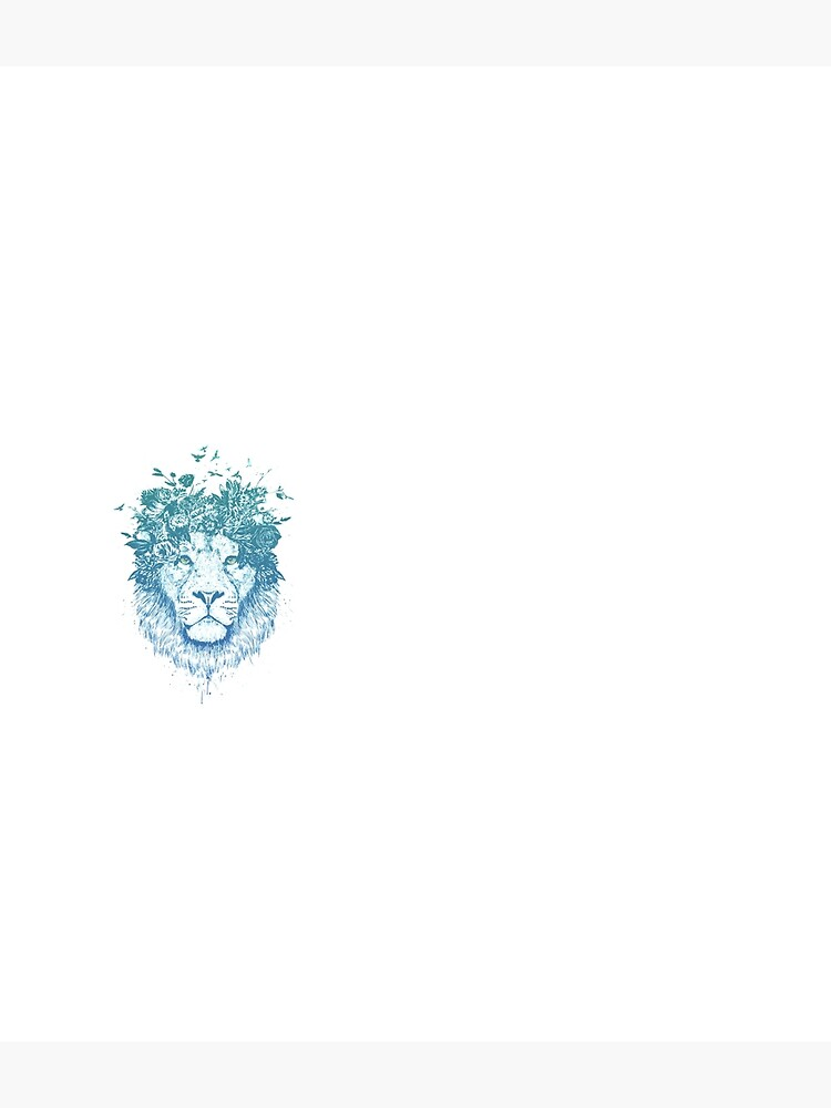 Floral lion by soltib