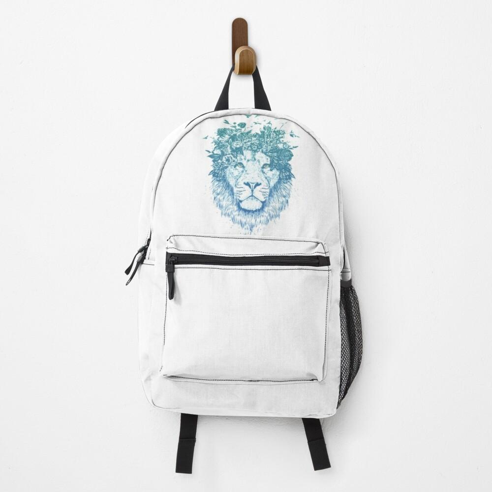 Floral lion Backpack