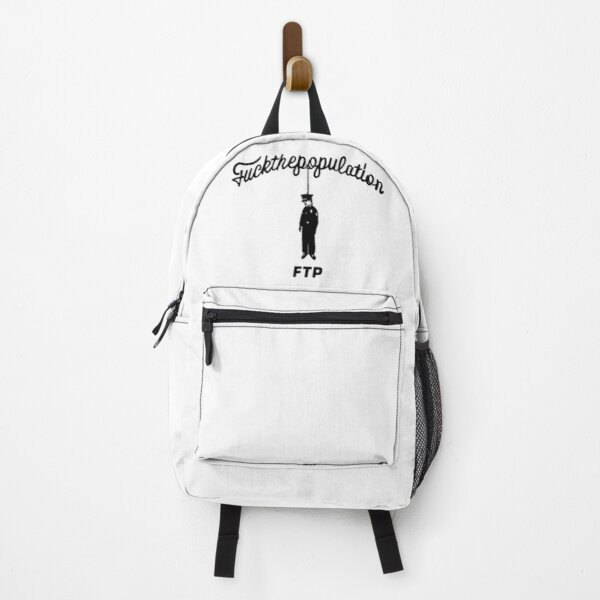 FuckThePopulation Cop hanging FTP SUICIDEBOYS Classic Official Design Backpack