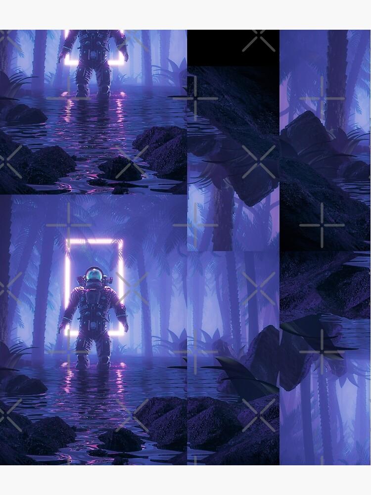 Lost In The Neon Jungle by GrandeDuc