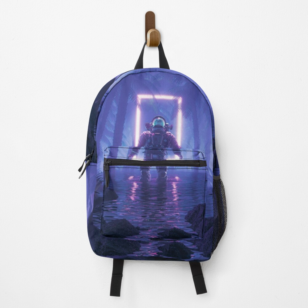 Lost In The Neon Jungle Backpack