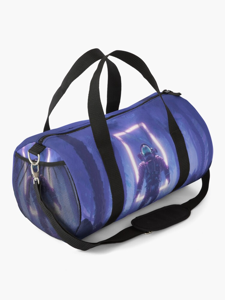Alternate view of Lost In The Neon Jungle Duffle Bag