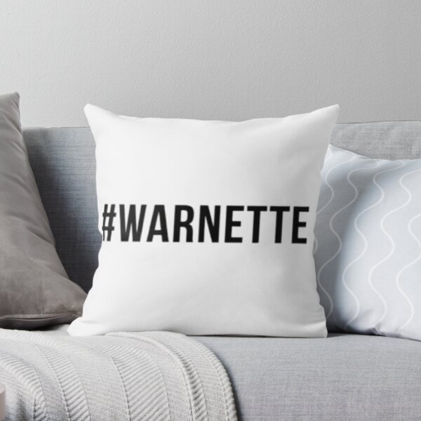 #Warnette  Throw Pillow