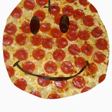 Pizza Smiley by imjesuschrist