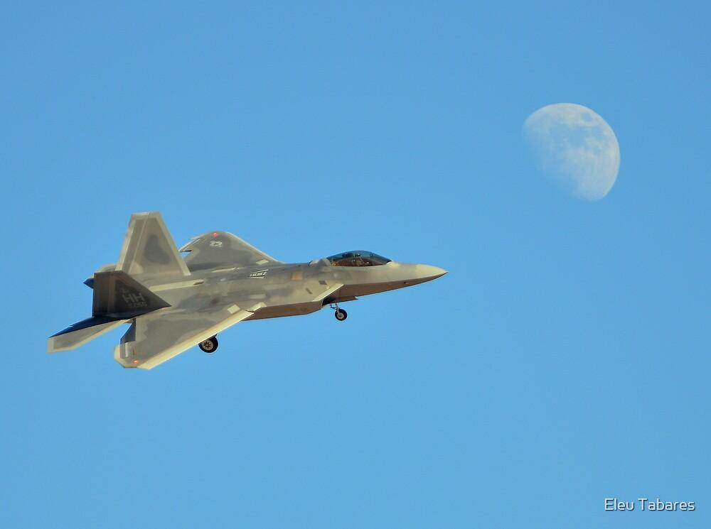 F-22 Raptor by Eleu Tabares