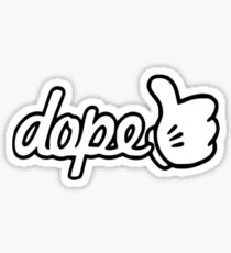 Dope (Thumbs Up) Sticker