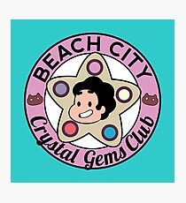 Steven Universe - Beach City Crystal Gems Club Photographic Print