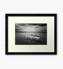 """Old Hornibrook "" ∞ Brighton, QLD - Australia Framed Print"