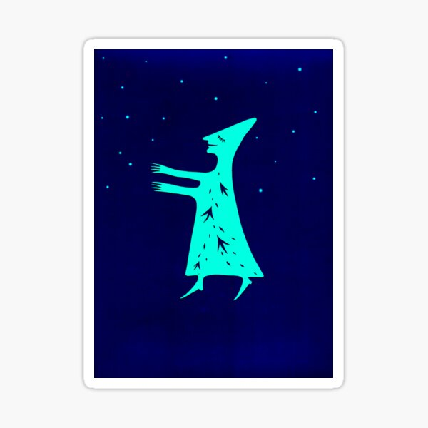 Brave new adventure-Stars Sticker