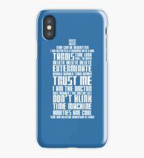 The Doctor Tardis iPhone Case/Skin