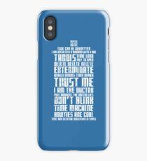 The Doctor Tardis Grunge version iPhone Case/Skin