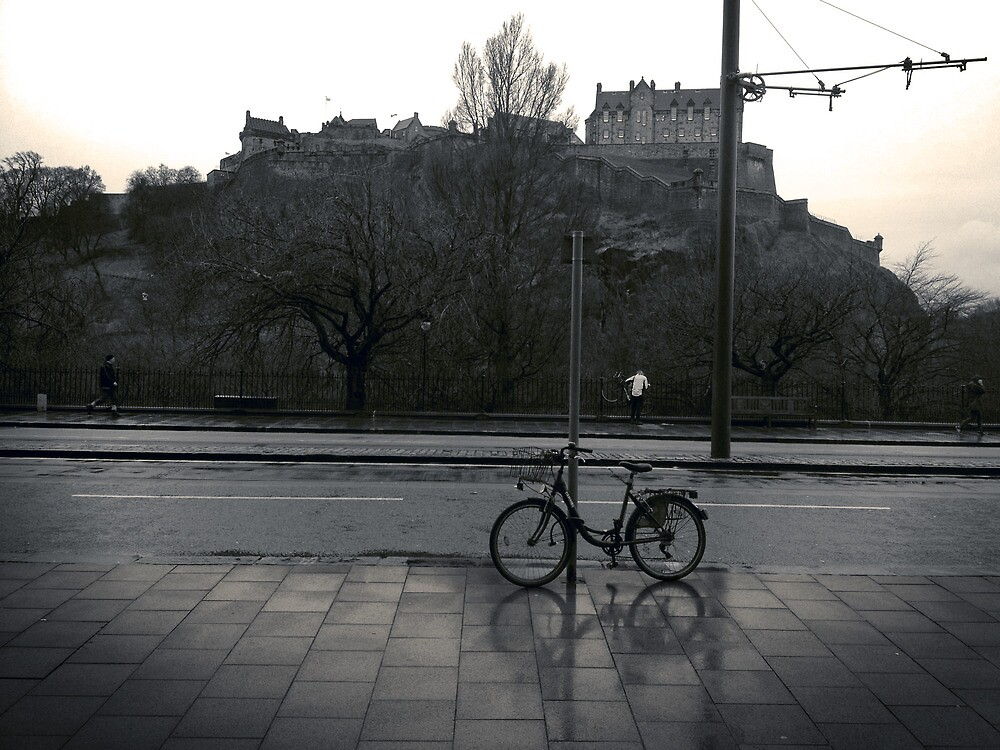 It's just a picture of somebody's bike by Graham Farquhar