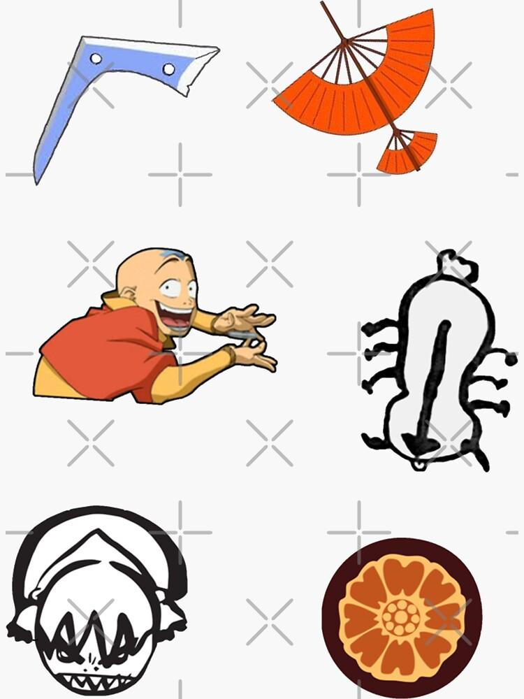 Avatar Sticker Pack by essiee