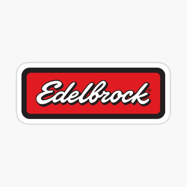 Edelbrock Sticker Sticker