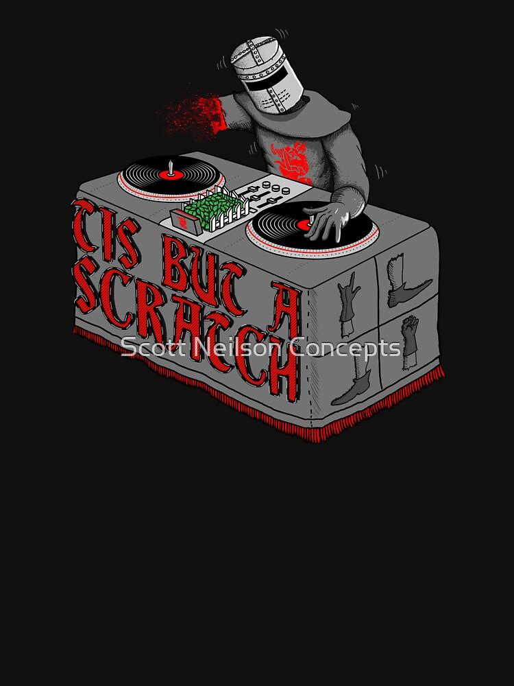 Tis Tis Tis But A Scratch | Unisex T-Shirt