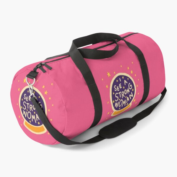 I see a strong woman Duffle Bag