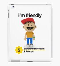 Super Sunshine Sam & Friends - Bob iPad Case/Skin