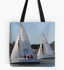 Much, much, much more than a yacht race Tote Bag