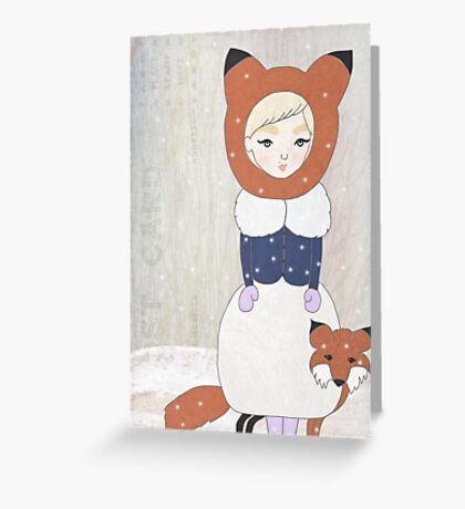 The Snow Child Greeting Card