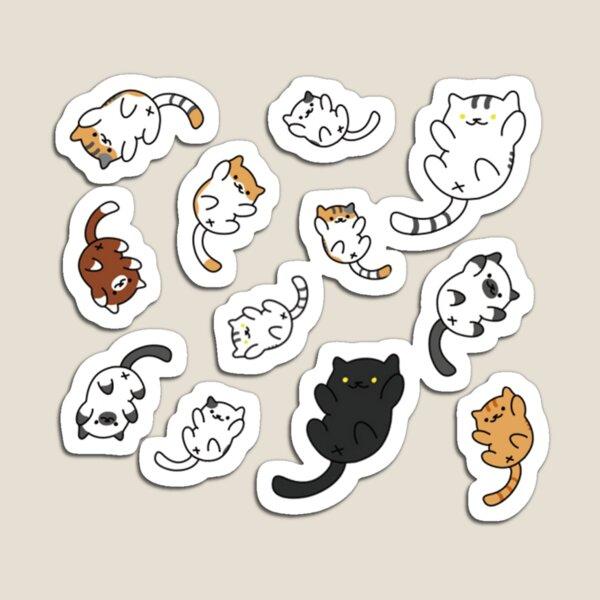 Gatos coleccionista Neko Atsume Kitty Imán