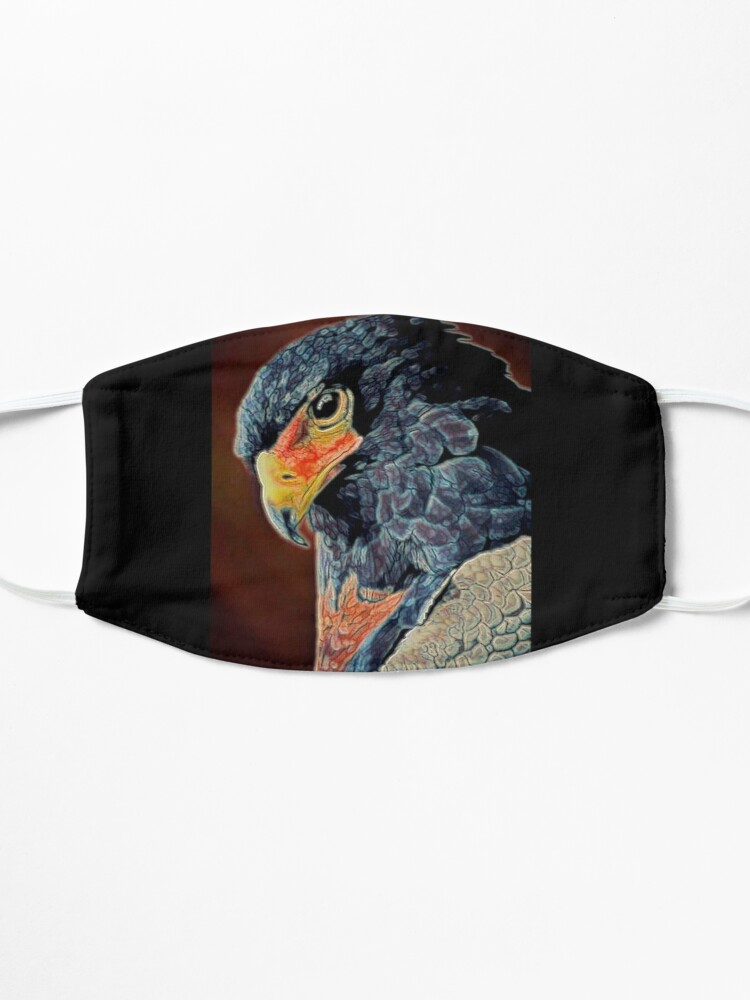 Alternate view of BIRD OF PREY Mask