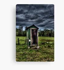 Thunder Downunder Aussie Dunny Canvas Print
