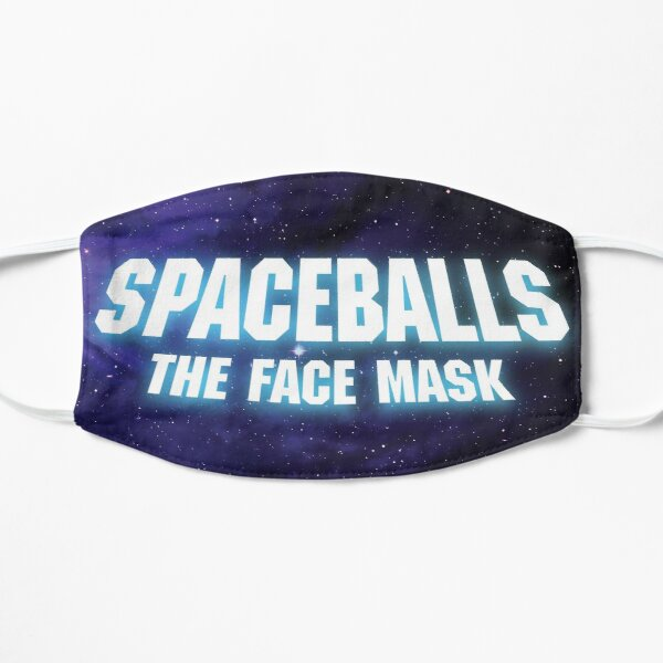 Space The Face Mask Galaxy Background Vintage Flat Mask