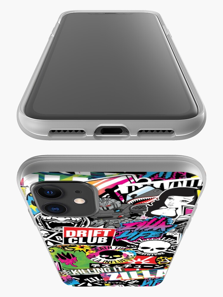 Alternate view of STICKERBOMB #002 iPhone Case & Cover