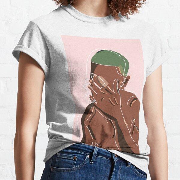 Frank Ocean Women T-Shirt Round Neck Short Sleeve Basic Summer Tee Tops