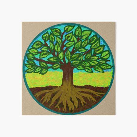 Tree of Life - Chi Correction Art Board Print