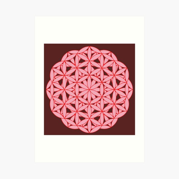 Flower of Life - Chi Correction Art Print