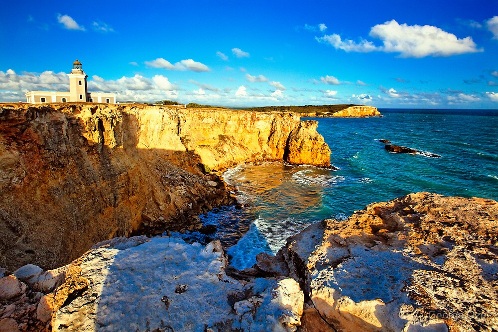 Los Morillos Lighthouse by George Oze