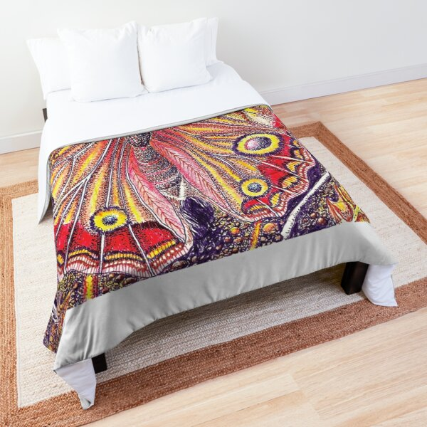 Butterfly Print (Buckeye) Comforter