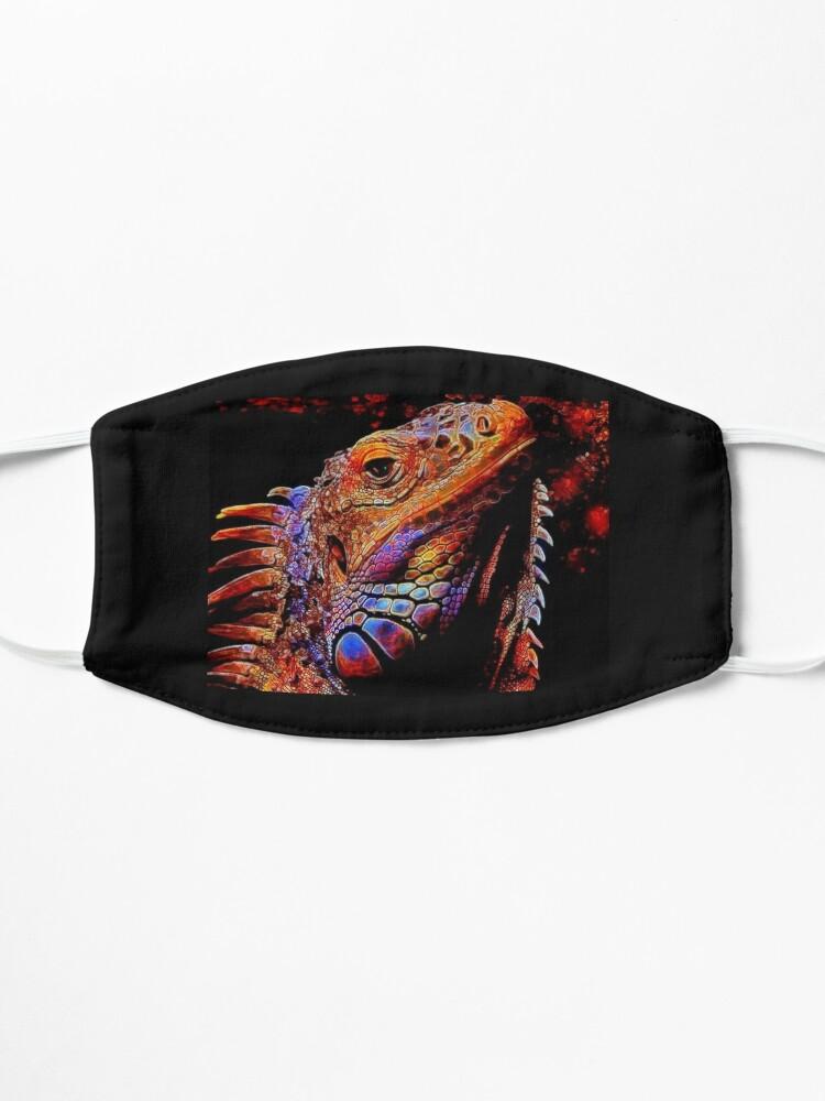 Alternate view of IGUANA IGOR Mask