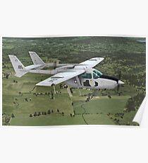 Cessna O-2 Skymaster Poster