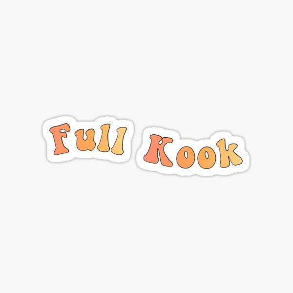 """Outer Banks """"Full Kook"""" Sticker"""