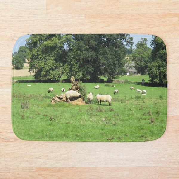 Merch #88 -- Sheep - Shot 4 (Hadrian's Wall) Bath Mat