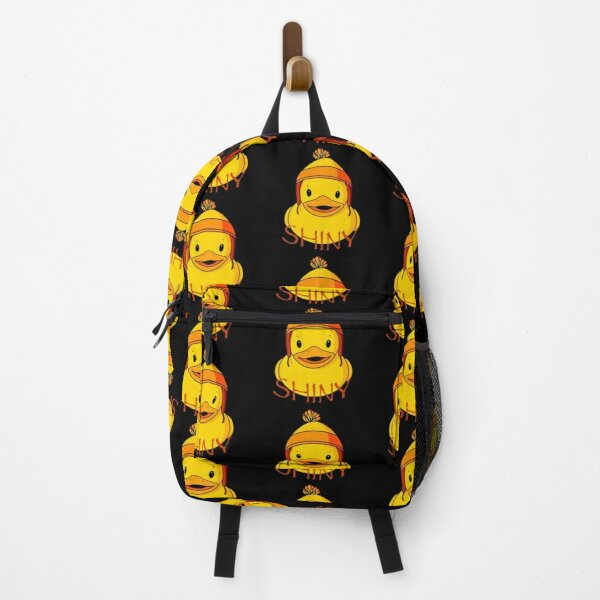 Shiny Rubber Duck Backpack