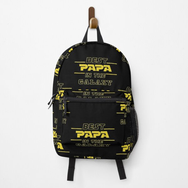 Best Papa gifts, best papa in the galaxy - Papa Christmas Fathers Day Best Papa Ever Mens Backpack