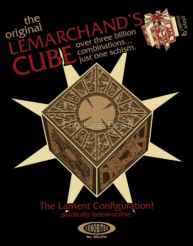 Lemarchand's Cube - Hellraiser by CptnLaserBeam