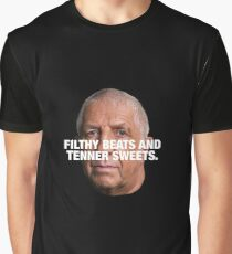 PETE PRICE - FILTHY BEATS AND TENNER SWEETS White Graphic T-Shirt
