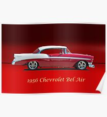 1956 Chevrolet Bel Air w/ ID Poster