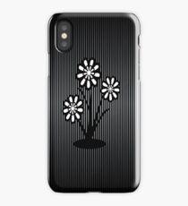 Monochrome Flowers (iPhone/iPod) iPhone Case
