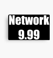 Network 9.99 Canvas Print